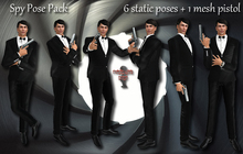Bounce This Poses - Spy Pose Pack