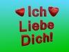 """Sign """"Ich Liebe Dich"""""""
