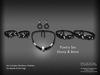 !SSD ~ Frills ~ Poetry Jewelry Set (Ebony & Bone)