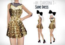 - by: Christina T -Shine Dress