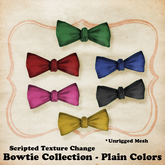 (W) Bow Tie - Plain Colors