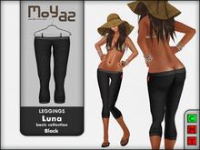 Luna leggings basic collection Black