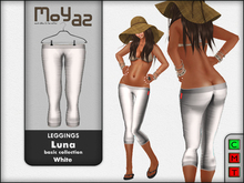 Luna leggings basic collection White
