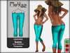 Luna leggings basic collection Turquoise