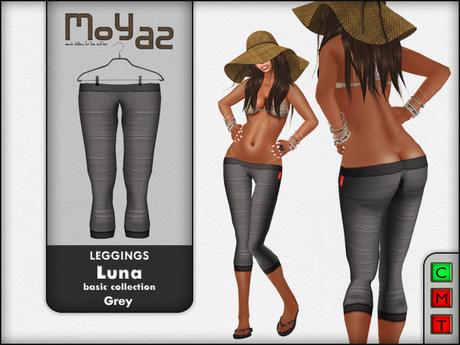 Luna leggings basic collection Grey