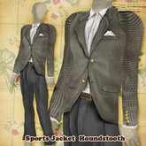 (W) Sports Jacket - Houndstooth