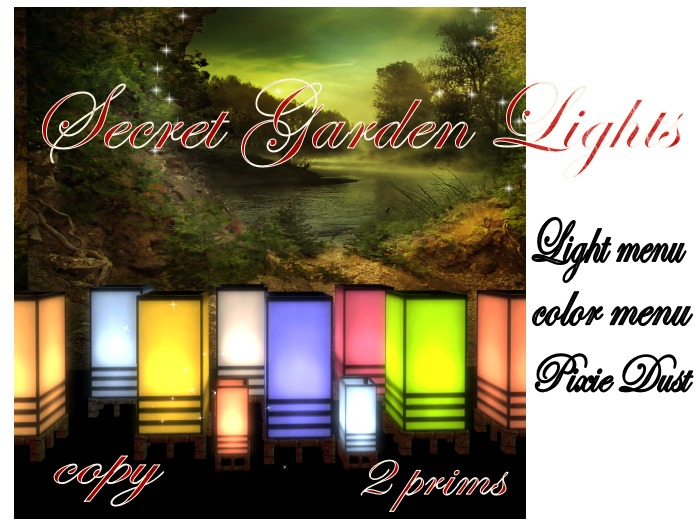 LadyBunny's Secret Garden Lights For Your Home and Garden!