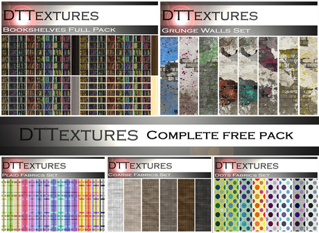 DTTextures - Complete Free Pack