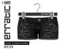 erratic / jessy - studded shorts / black