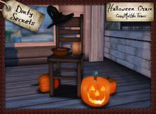 ~ Dirty Secrets ~ Halloween Chair PROMO - Discount