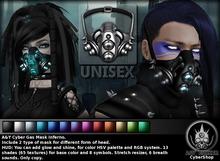A&Y Cyber Gas Mask Inferno