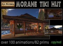 50% OFF! Morane Tiki Hut
