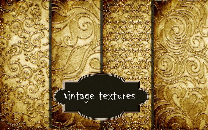 Vintage art-deco textures 1*NO SEAMLESS