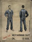 [DustyHut] Repairman Suit - Oil