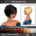 A&A Serafine Hair 11 Colors Variety Pack. Short womens bob hairstyle