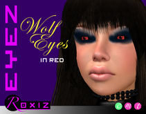 ROXIZ... EYEZ > Wolf Eyes in Red