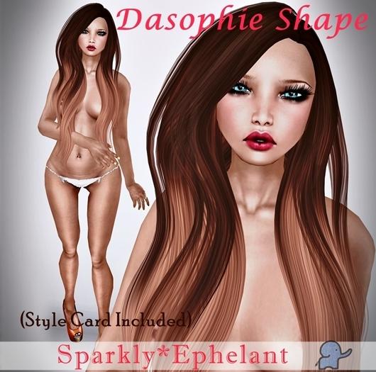 [S*E] Sparkly*Ephelant Dasophie Shape