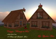 Cottage Fantasy in Red (Boxed)