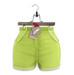 Tee*fy Abbey Highwaist Basics LimeSherbet Shorts