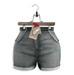 Tee*fy Abbey Highwaist Used Denim  Shorts