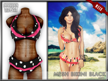 * Maison Close * Bikini Mesh Black PROMO / SPECIAL OFFERT