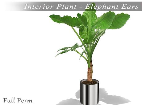 Second Life Marketplace Interior Plants Office Plant