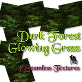 FUD Dark Forest Glowing Grass Textures (Sim Land Terrain)