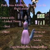 RooU dress set for the RooU avatar