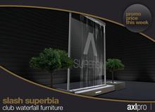 AXL pro box - Slash Superbia Club Waterfall Furniture