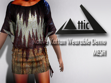 -ATTIC- Native Kaftan (wearable Demo)