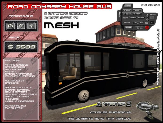 AnacondaS Road Odyssey House Bus