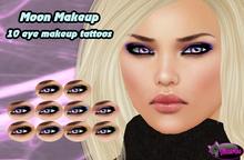 .:Glamorize:. Moon Eye Makeup - 10 Tattoos