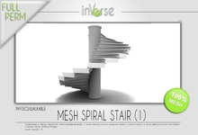 inVerse™- *MESH* spiral stair 1 for developers