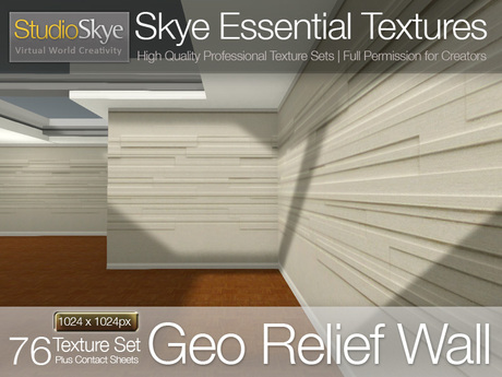 Geo Relief Wall - Skye Essential Full Perms Textures