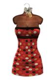 * Maison Close * Sexy Mesh Dress Polka Dot Red PROMO