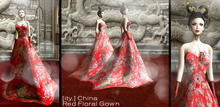 [ity.] China - Red Floral Gown