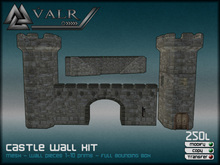 Mesh Castle Walls Kit
