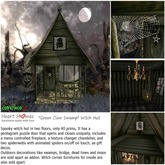 """""""Green Claw Swamp"""" Witch Hut (Copy/Mod/BOXED)"""
