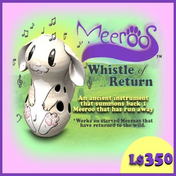 Meeroo Whistle V3.0  BOXED 350L