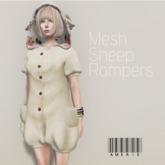 AMERIE - Mesh sheep rompers(Ivoly)