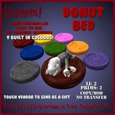 Donut Bed by Vavoom! Boxed Toys and Accessories for Virtual Kennel Club (VKC®) Pets - No Training Required
