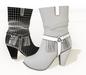 Ladies cowboy boots uv