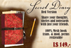 Secret Diary or journal - Mesh - Red version share notes with friends