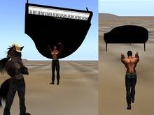 .:LAND:. Piano Thrower