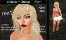 Cele'Sations Complete Avatar ~ April
