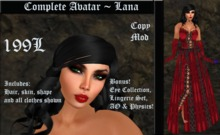 Cele'Sations Complete Avatar ~ Lana