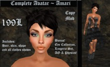 Cele'Sations Complete Avatar ~ Amari