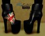 DADAbeiz :: JustBlack & Flaggy Ankle Boots