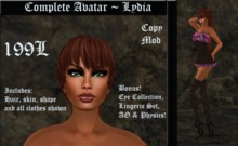 Cele'Sations Complete Avatar ~ Lydia