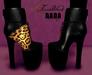 DADAbeiz :: JustBlack & Leo Ankle Boots